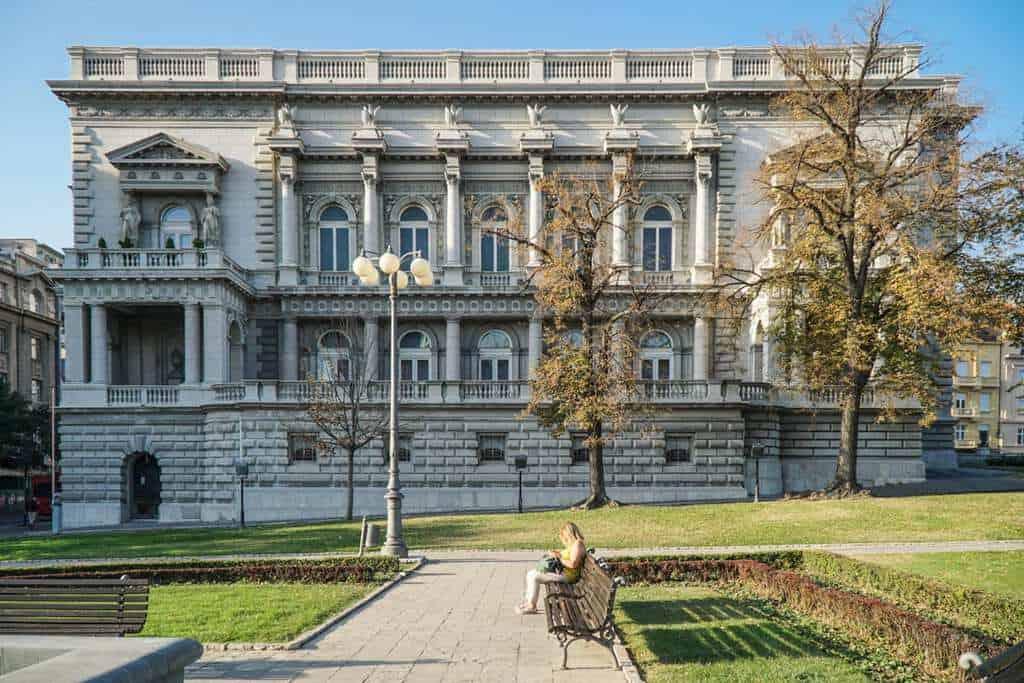 Serbia - Belgrade - Old Palace