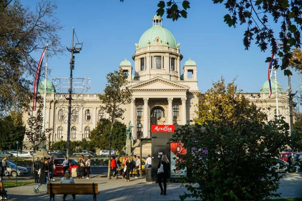 Serbia - Belgrade - National Assembly