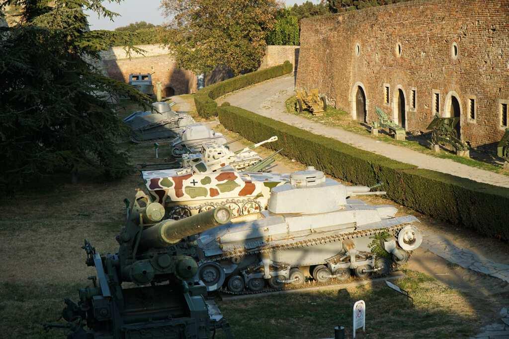 Serbia - Belgrade - Kalemegdan Military Museum