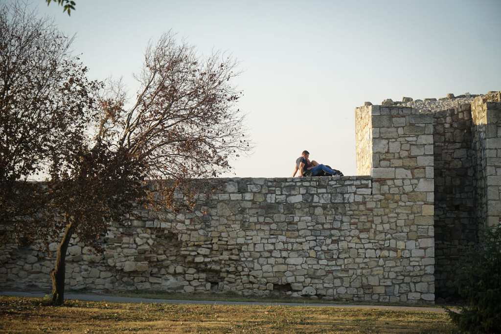 Serbia - Belgrade - Kalemegdan Couples