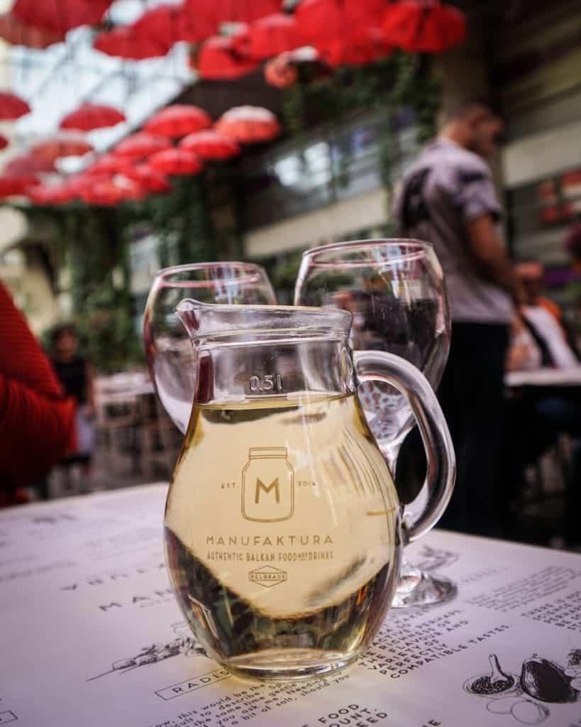 Serbia - Belgrade - Wine