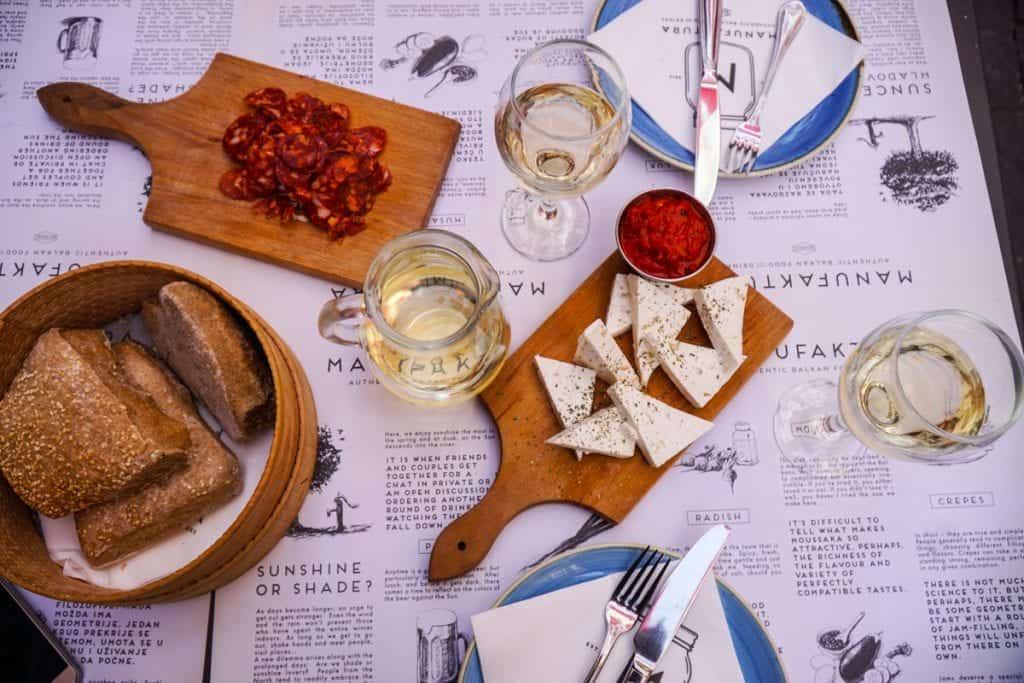 Serbia - Belgrade - Manufaktura Serbian Food