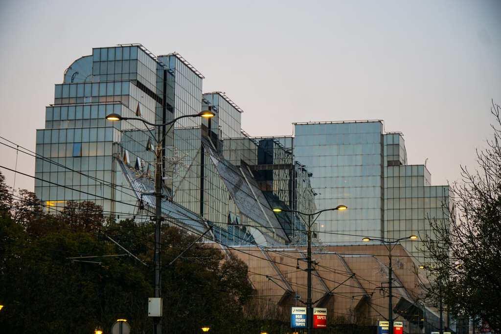 Serbia - Belgrade - Bank Building