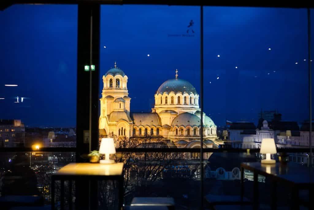 Bulgaria - Sofia - Sense Rooftop Bar