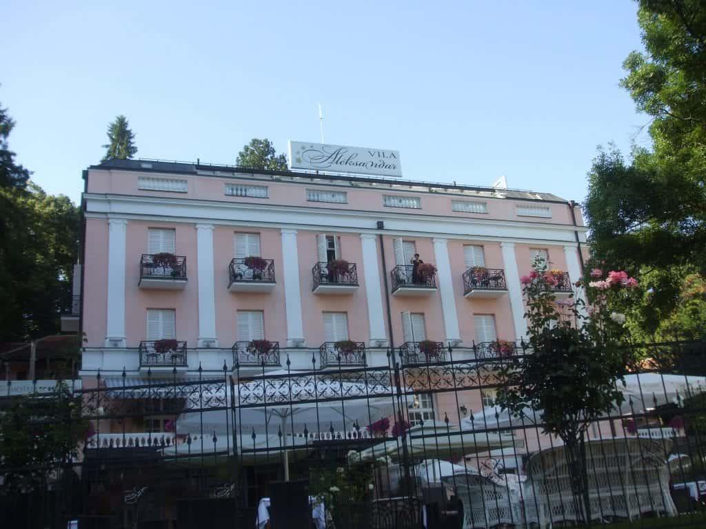 Serbia - Vrnjačka Banja - Villa Alexander - Wikimedia Commons