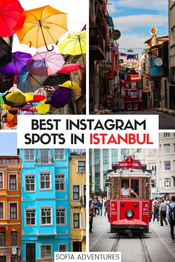 Your guide to Instagrammable Istanbul! 21 of our favorite Instagram spots in Istanbul, Turkey chock full of the best Istanbul photography spots. Here are our recommendations for off the beaten path Istanbul hidden gems as well as famous Instagram-worthy places in Istanbul to get your best Istanbul photos! Plus, exact Istanbul photo locations w/ location for Google maps + bonus Istanbul travel tips!