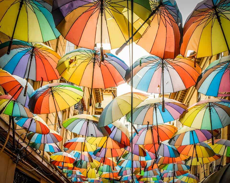 Romania - Bucharest - Umbrella Alley
