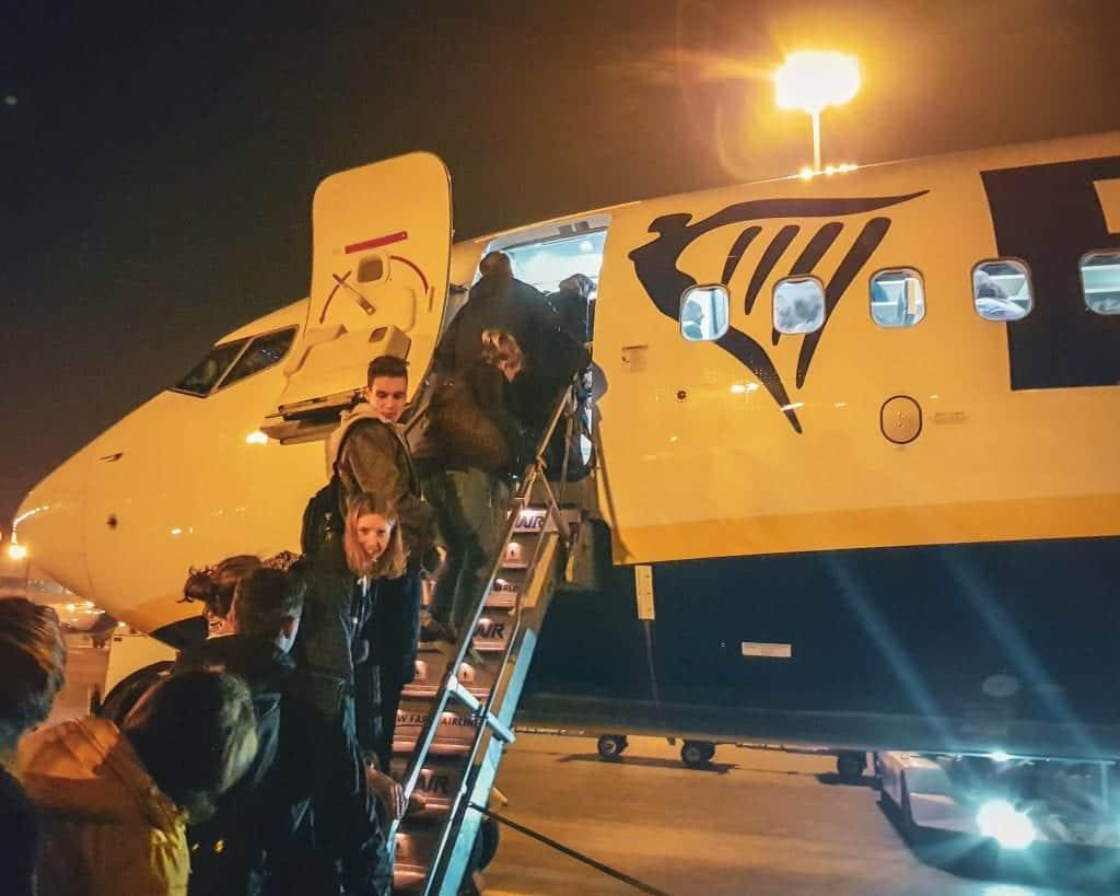 Bulgaria - Sofia - Airplane Ryanair Sofia Airport