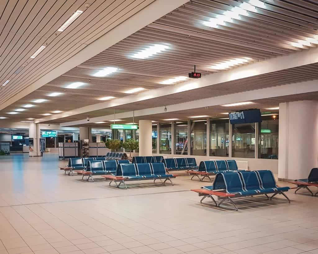 Bulgaria - Sofia - Airport Chairs Sofia Airport