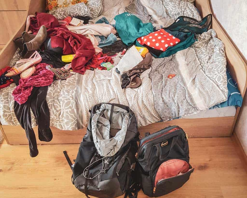 Bulgaria - Sofia - Packing