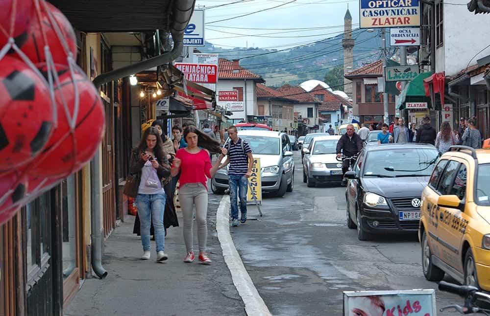 Serbia - Novi Pazar - Downtown - Wikimedia Commons