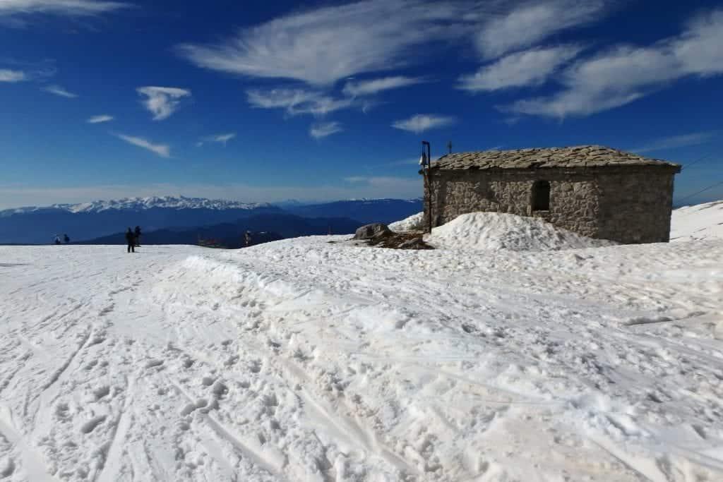 Parnassos Ski Resort in Greece. Photo by Helena Moskova. Reused with permission.