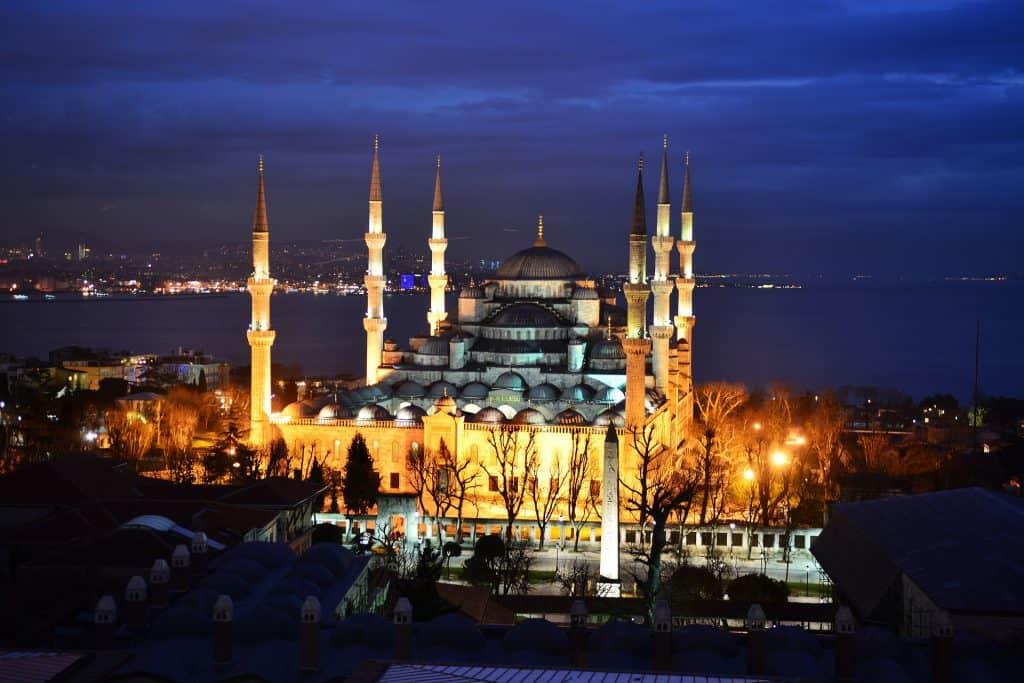 Turkey - Istanbul - Blue Mosque - Pixabay