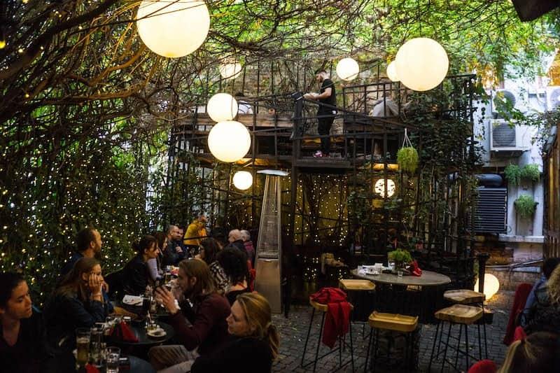 Romania - Bucharest - Cafe Garden Outdoor