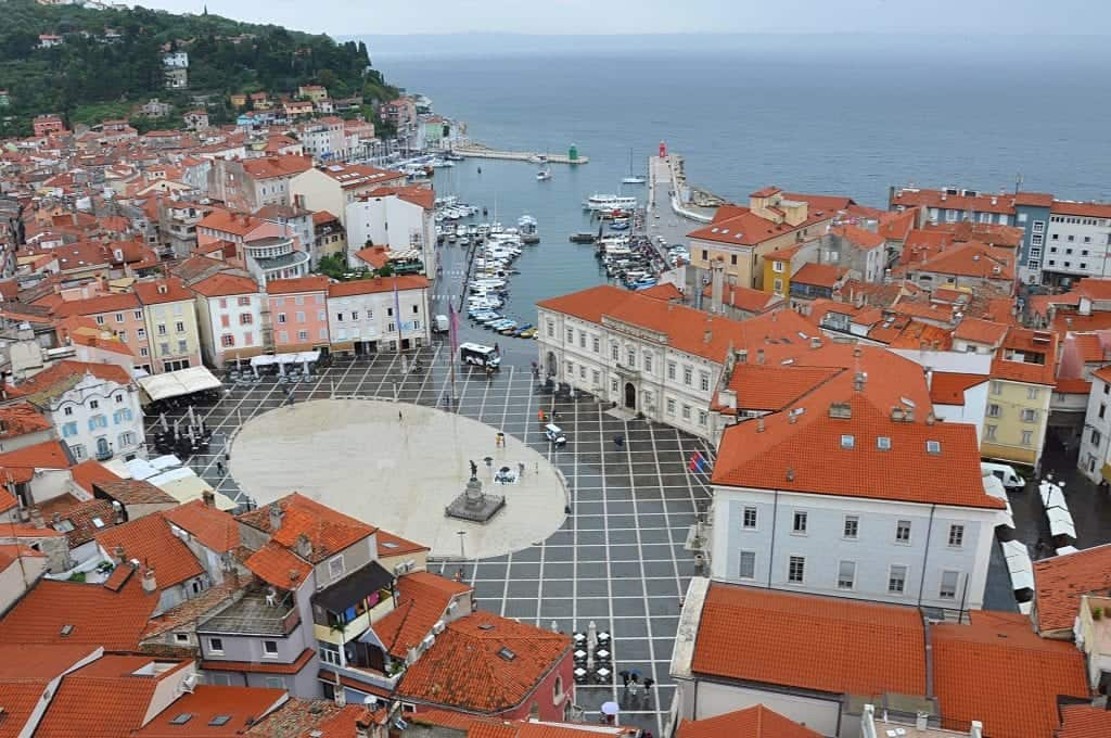 Slovenia - Piran - View from Tower - Pixabay
