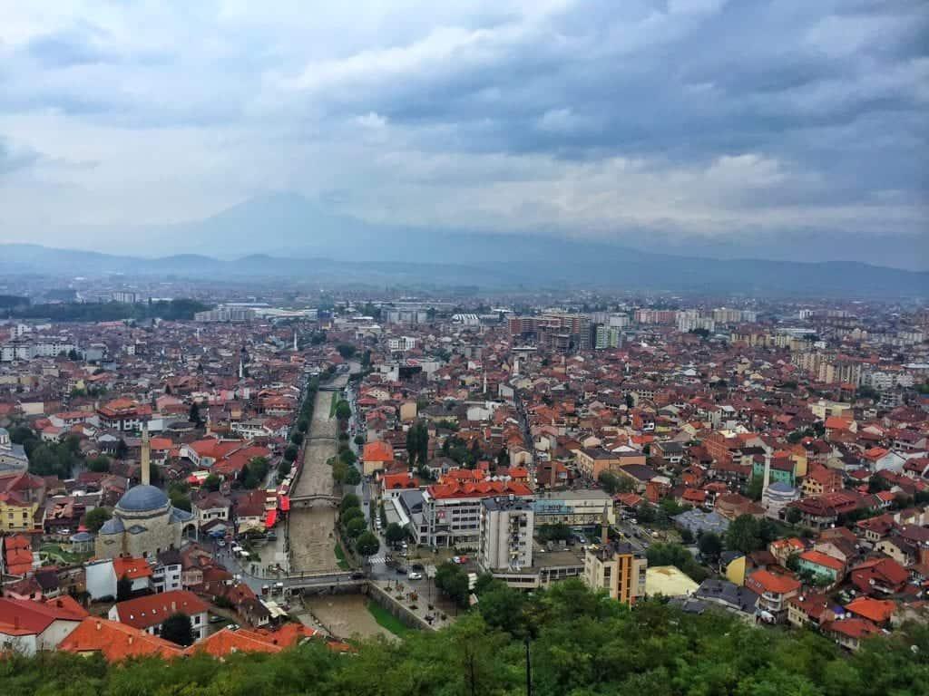Kosovo - Prizren - Fortress view