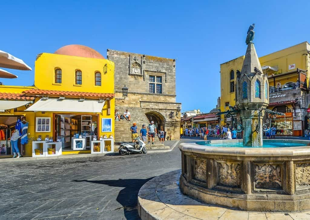 rhodes-Greece - Rhodes - Fountain