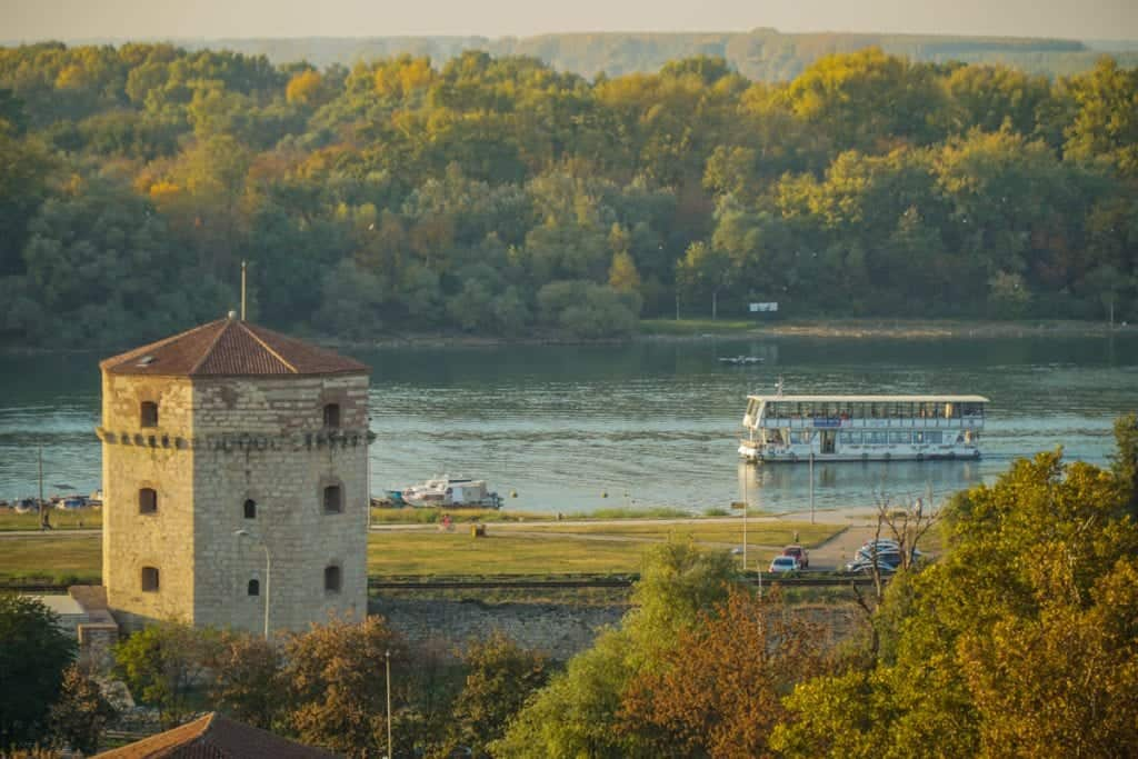 Serbia - Belgrade - River Cruise Boat