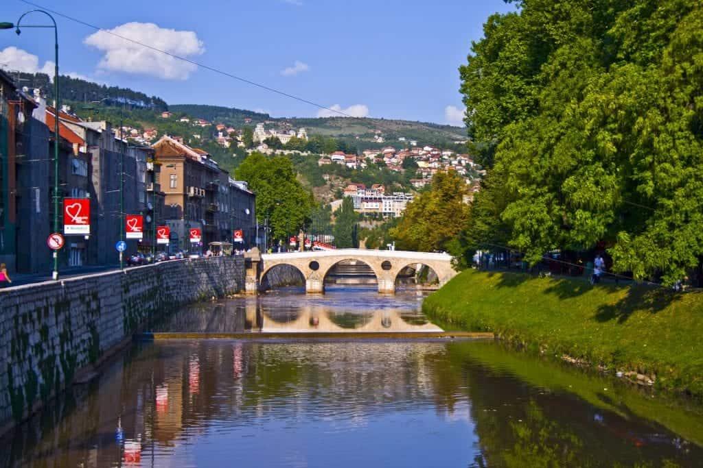 Bosnia - Sarajevo - Bridge - Pixabay