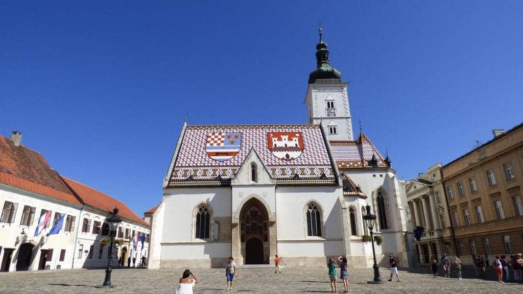 Croatia - Zagreb - St. Marks - Pixabay