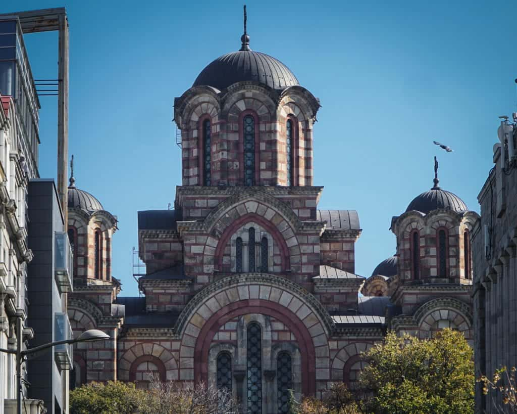 Serbia - Belgrade - St. Marks Church