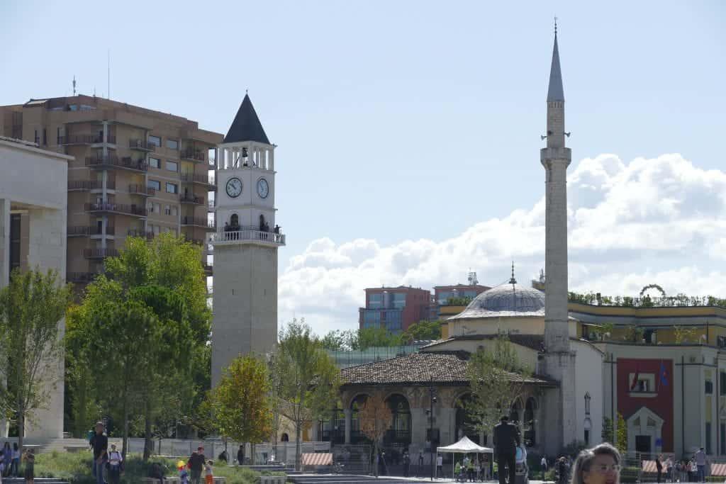 Albania - Tirana - Mosque - Pixabay