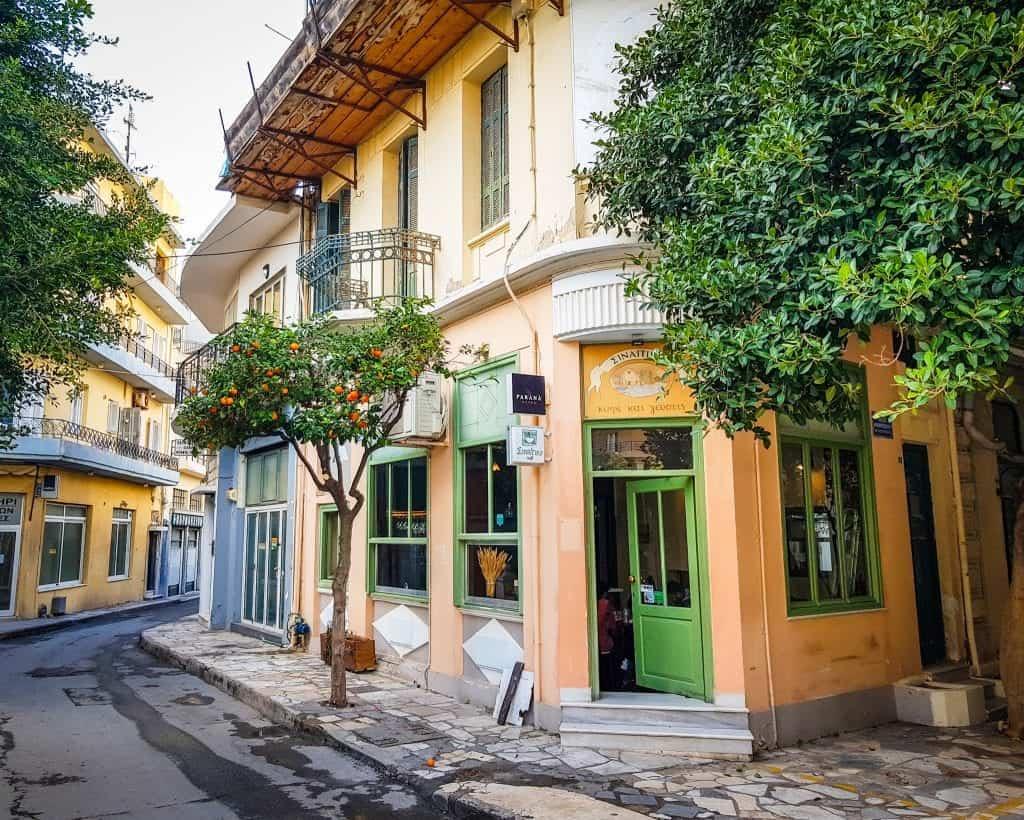 Greece - Heraklion Crete - Cafe