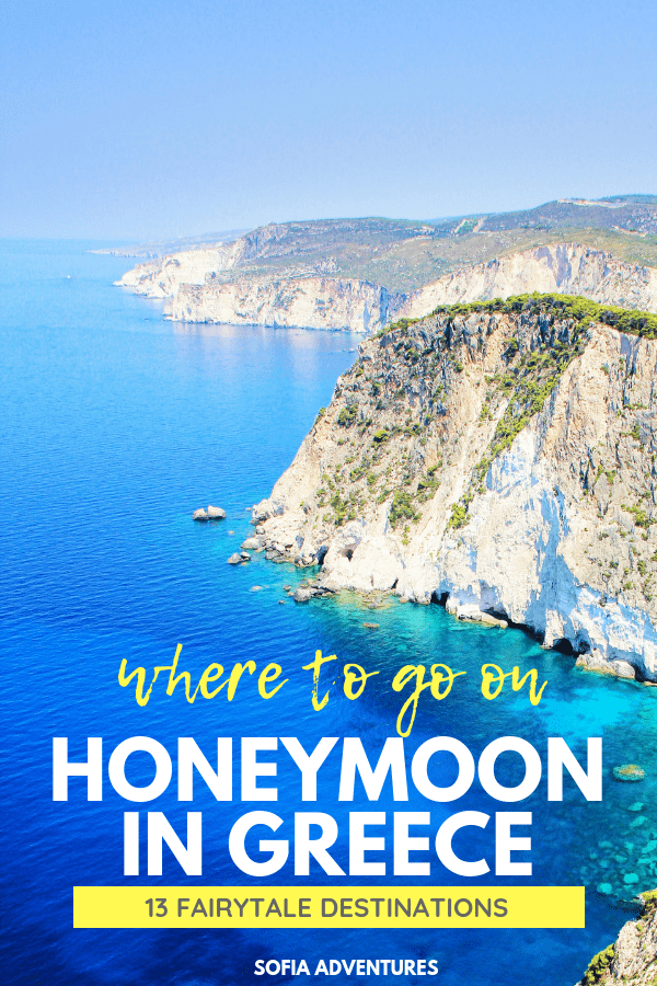 13 Fairytale Destinations for Your Honeymoon in Greece