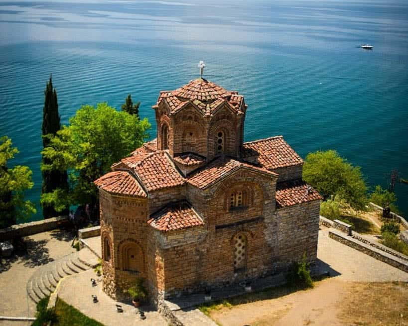 Macedonia - Ohrid - Church of St. John the Theologian