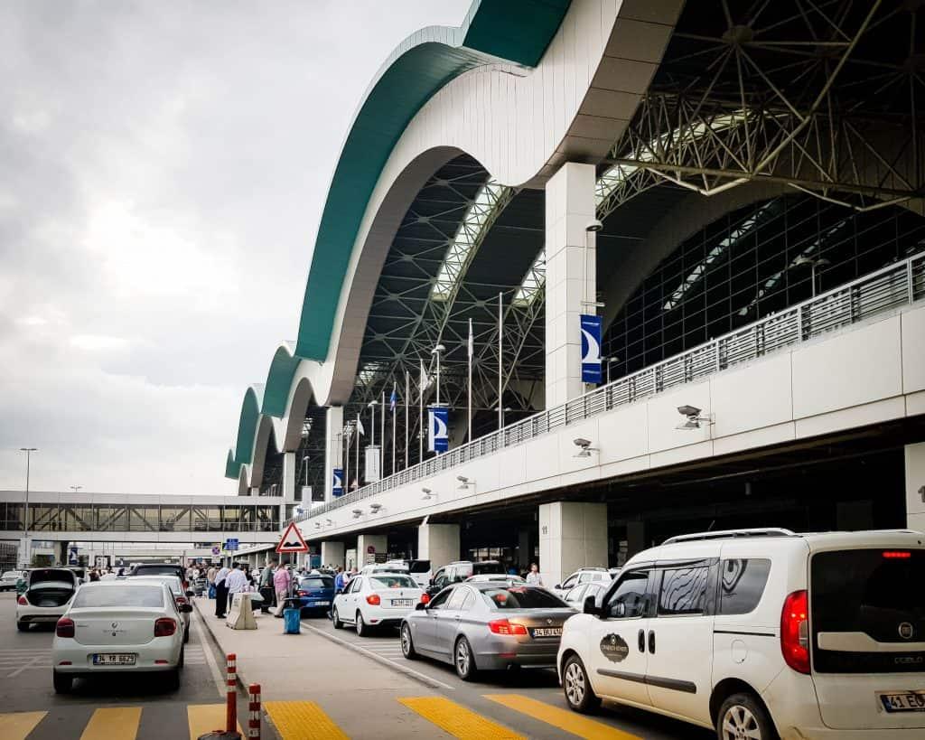 Turkey - Istanbul - Arriving at Ataturk Airport