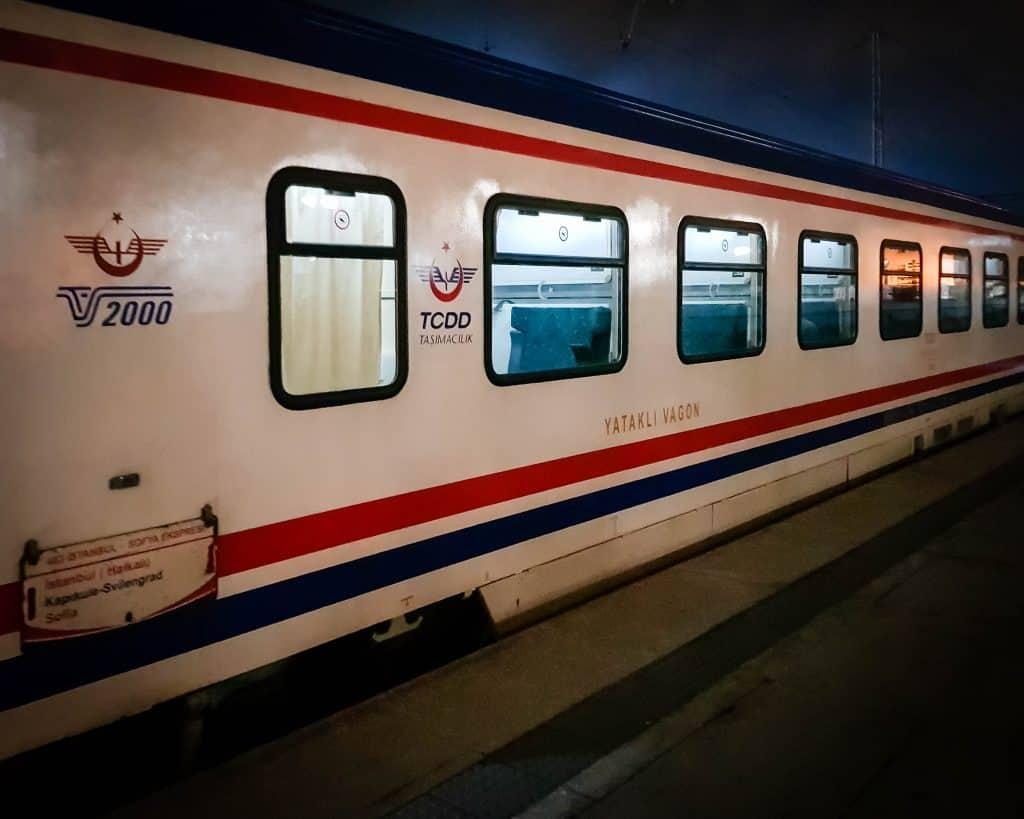 Bulgaria - Sofia - Train from Istanbul to Sofia