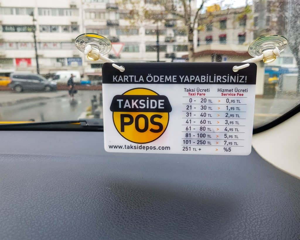 Turkey - Istanbul - Istanbul Taxi