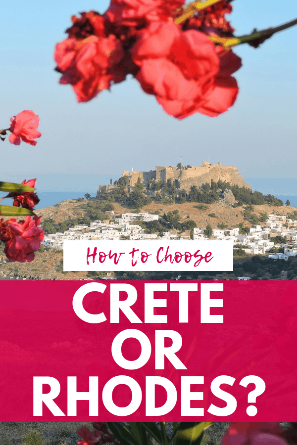 Crete or Rhodes: Which Greek Island is Right for Your Island Getaway?