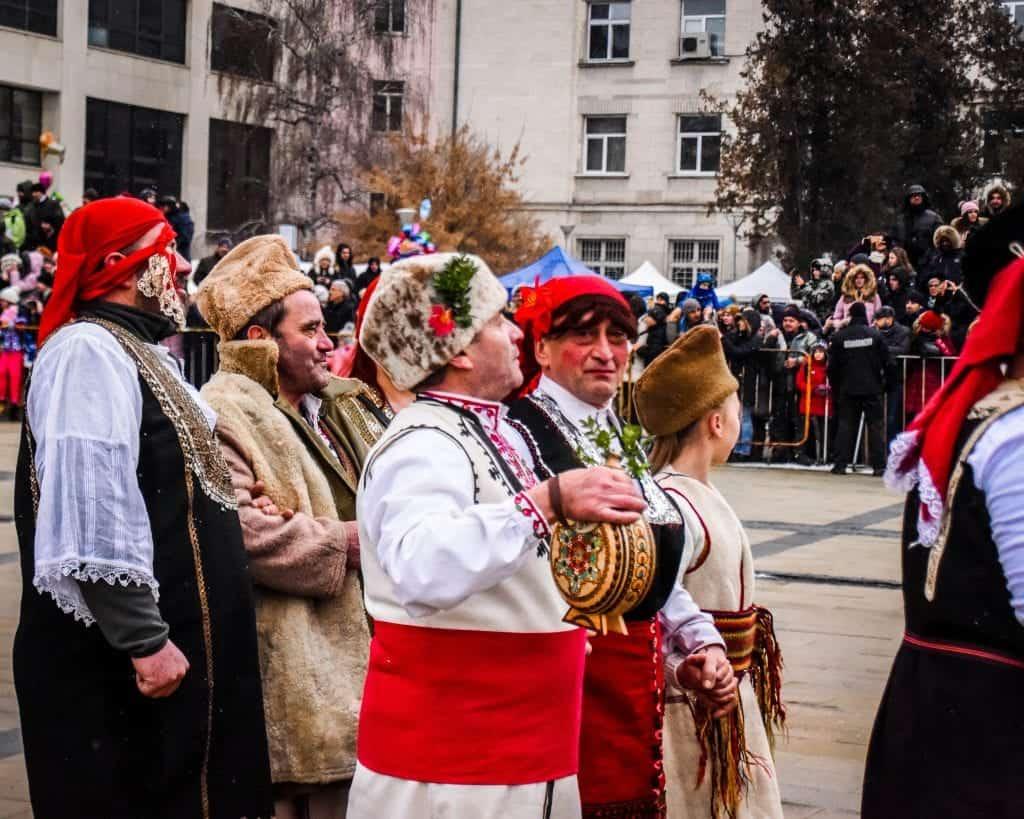 Bulgaria - Pernik - Surva Festival of Masquerade Games Kukeri