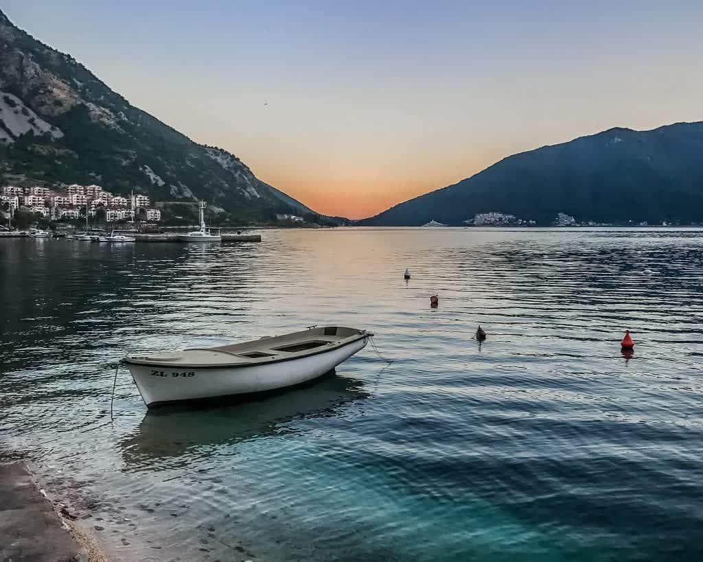 Montenegro - Risan - Sunset