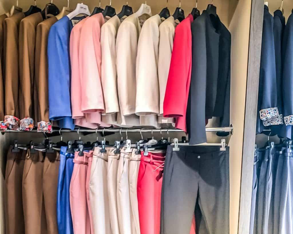 Kosovo - Pristina - Hillary Store Pantsuits