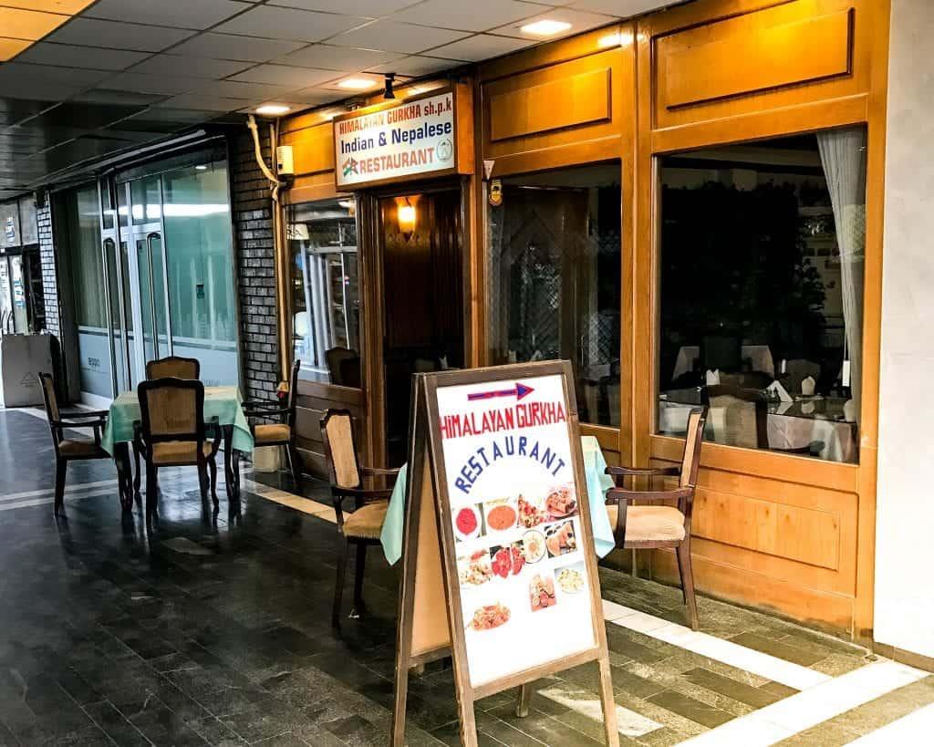 Kosovo - Pristina - Himalayan Gurkha Restaurant