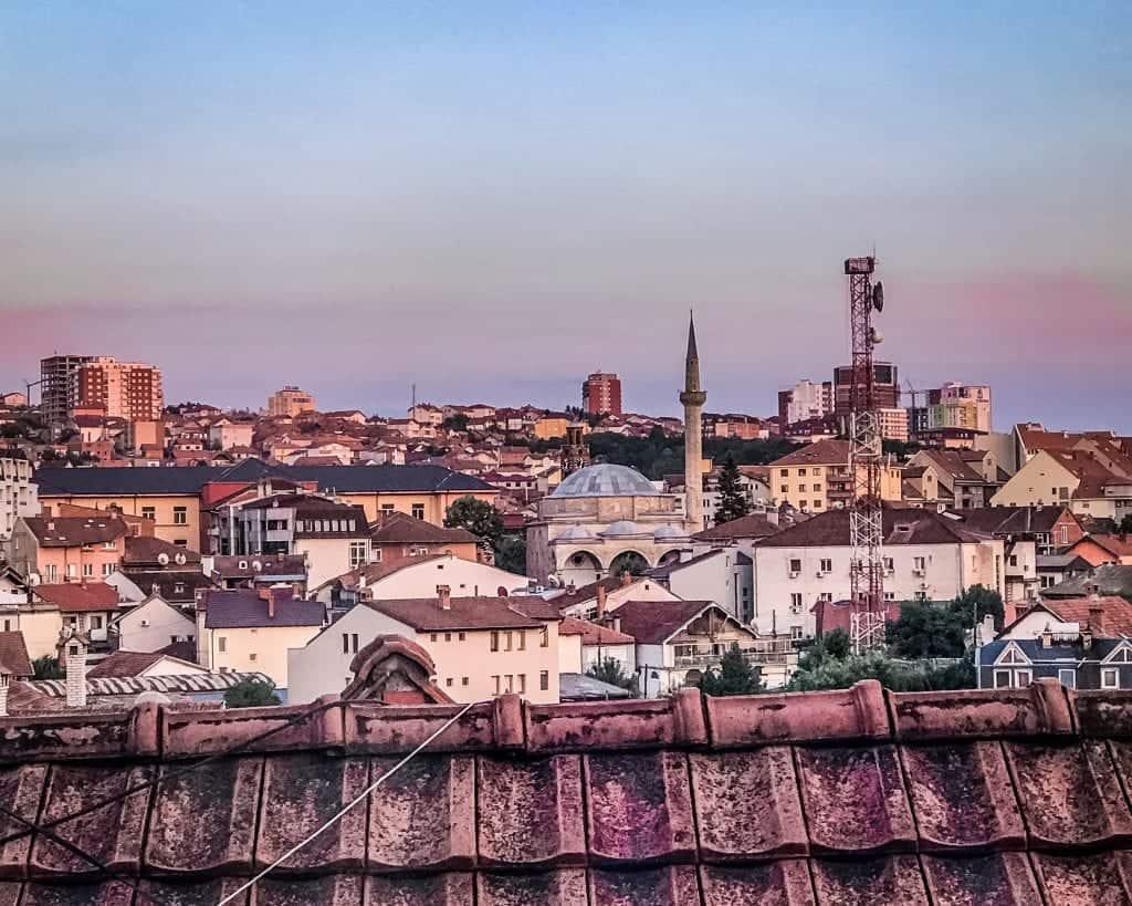 Kosovo - Prishtina - Rooftops
