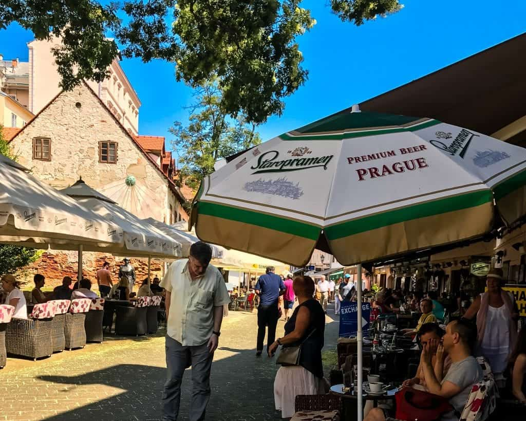 Croatia - Zagreb - Ivana Tkalciceva Street