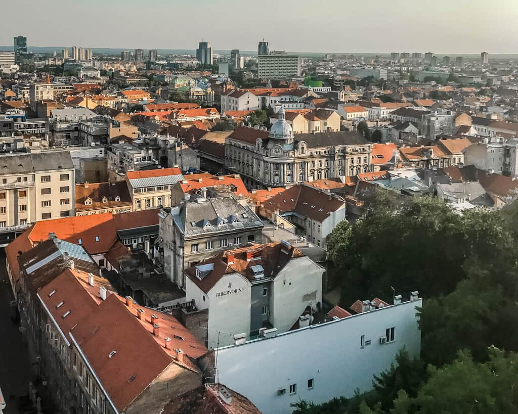 Croatia - Zagreb - City View