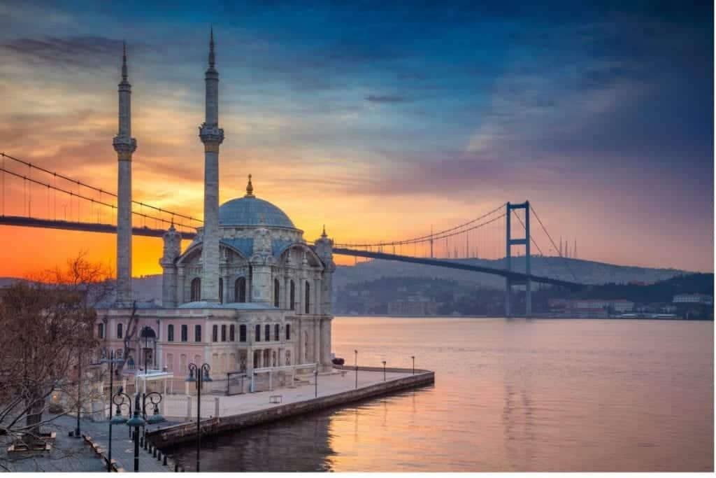 Turkey - Istanbul - Ortaköy Mosque - Canva Purchase
