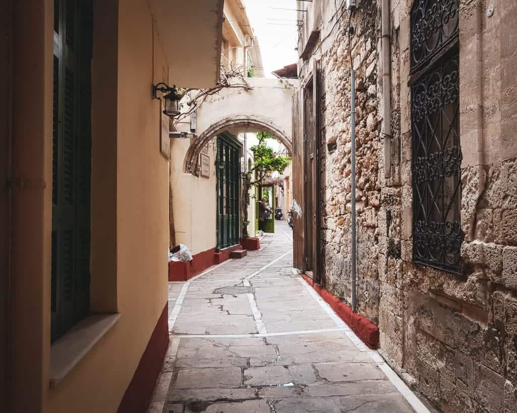 Crete - Rethymnon - Street Scene