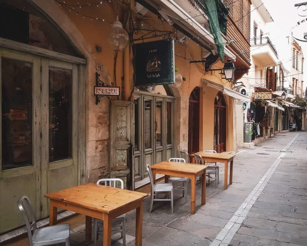Crete - Rethymnon - Raki Bar