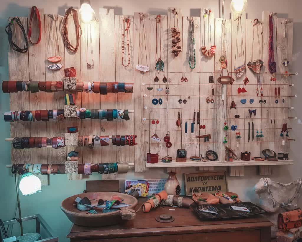 Crete - Rethymnon - Spantis Handmade Leatherwear Shop