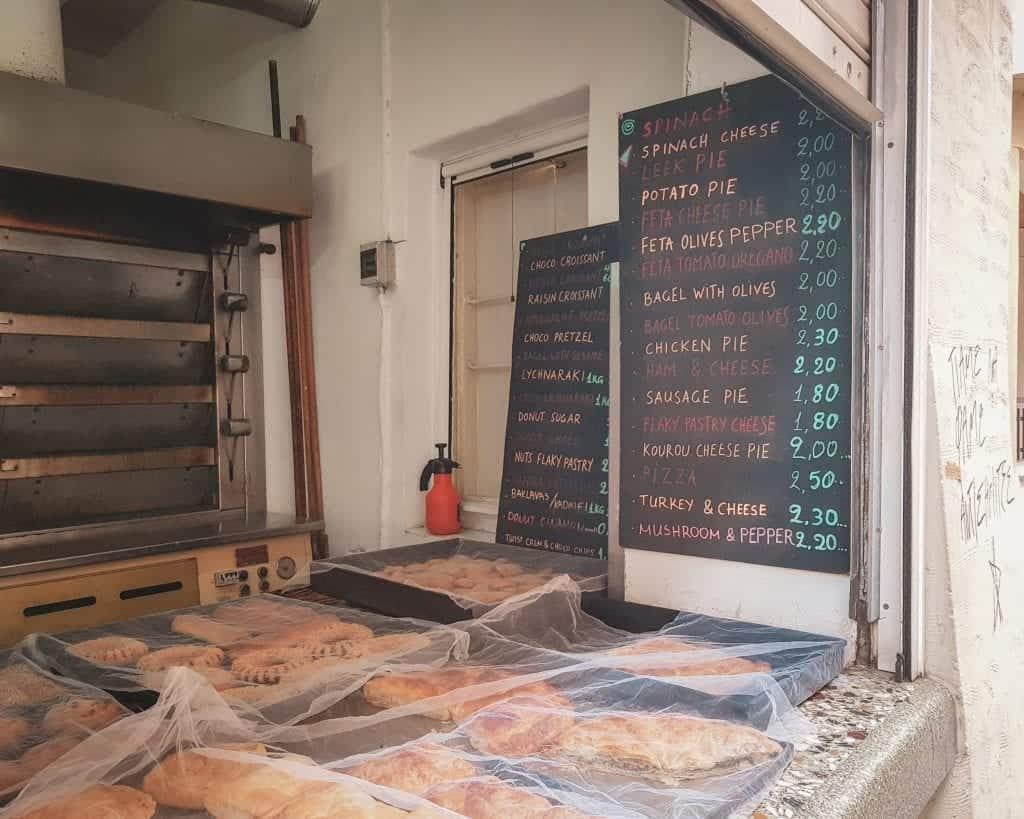 Crete - Rethymnon - Bakery