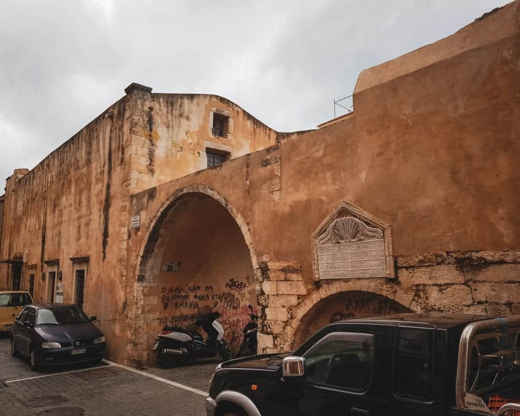 Crete - Rethymnon - Hagia Sophia Church