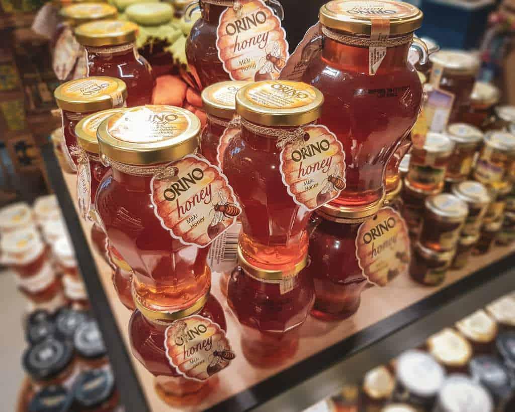 Greece - Crete - Heraklion - Souvenir Honey