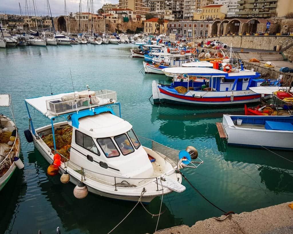 Greece - Crete - Heraklion - Old Venetian Harbor