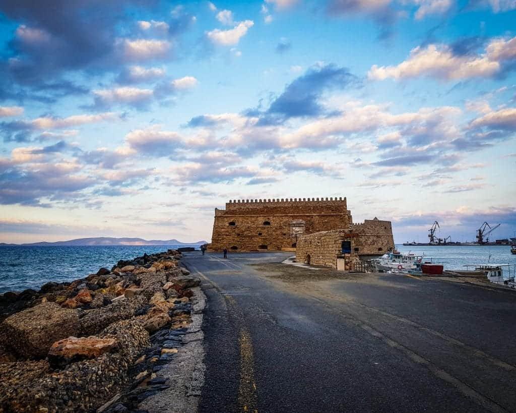 Greece - Crete - Heraklion - Koules Fortress
