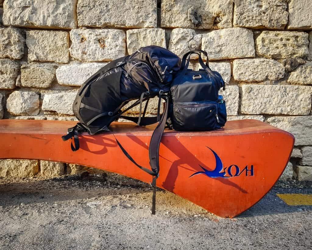 Greece - Crete - Heraklion - Old Venetian Harbor Luggage